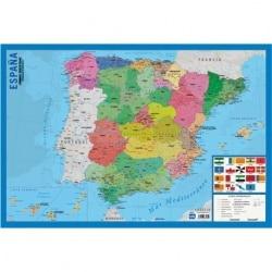 Lamina Educativa Mapa España