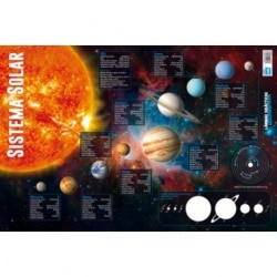 Lamina Didactica Sistema Solar