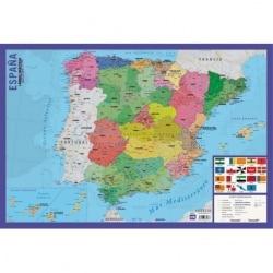 Lamina Didactica Mapa España