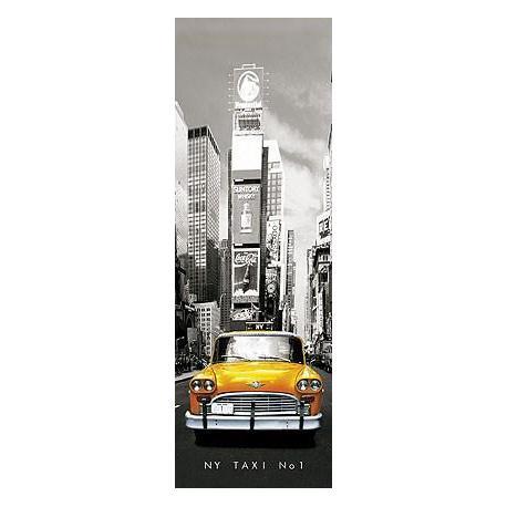 Poster Puerta New York Taxi Nº1