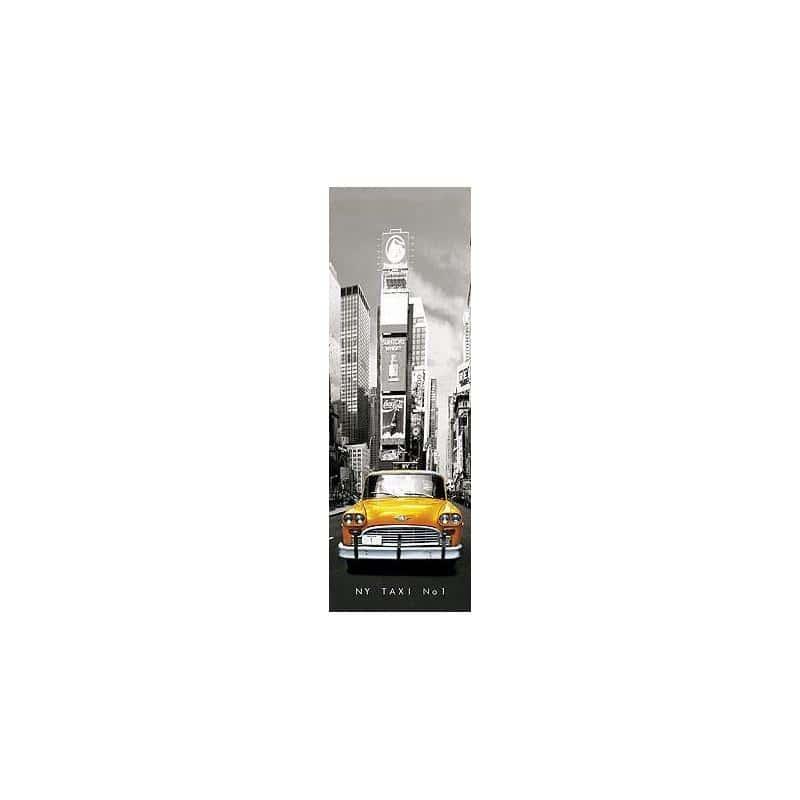 El poster puerta new york taxi n 1 de mejor calidad y precio en nosoloposter for Poster de porte new york