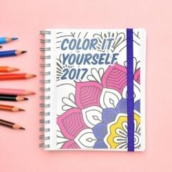 Agenda 2017 Semana Vista Color It Yourself