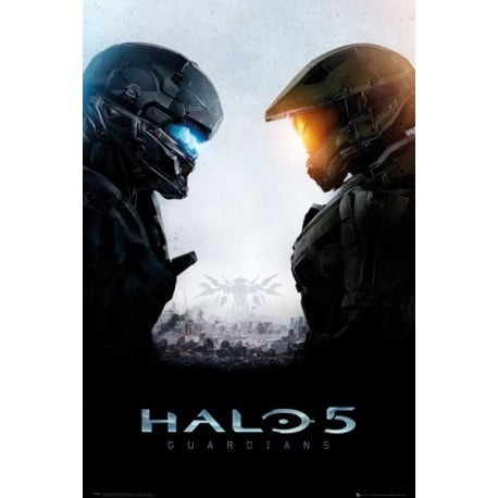 Maxi Poster Halo Guardianes