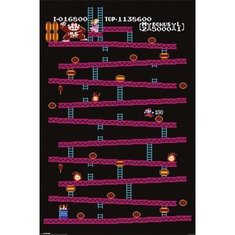 Maxi Poster Nintendo Donkey Kong