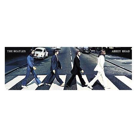 Poster Puerta Los Beatles Abbey Road