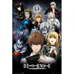 Maxi Poster Death Note Collage