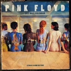 Calendario 2017 Pink Floyd