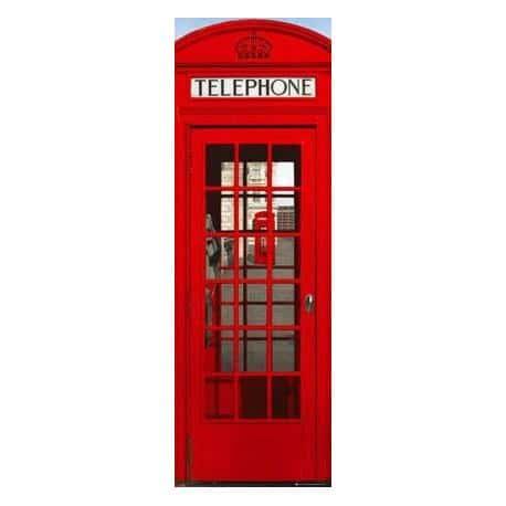 Poster Puerta Londres Cabina Telefono
