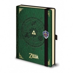 Cuaderno A5 Premium Legend Of Zelda