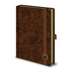 Cuaderno A5 Premium Marvel Retro