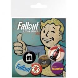 Pack de Chapas Fallout 4 Mix 2