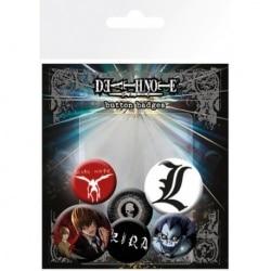 Pack de Chapas Death Note Mix