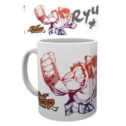 Taza Street Fighter Ryu