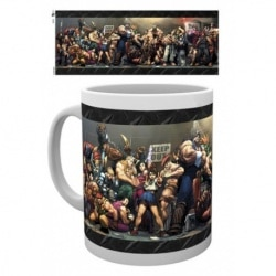 Taza Street Fighter Fight