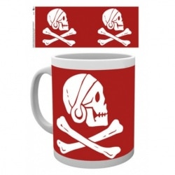 Taza Uncharted Red Skull