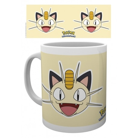 Taza Pokemon Cara de Meowth