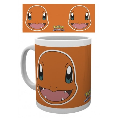 Taza Pokemon Cara de Charmander