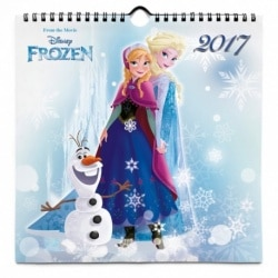 Calendario 24x24 2017 Disney Frozen