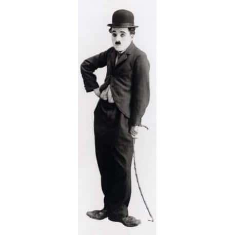 Poster Puerta Charles Chaplin