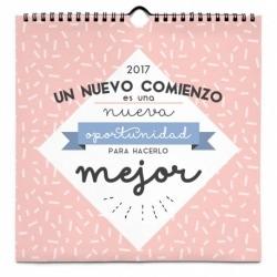 Calendario 24x24 2017 Mensajes