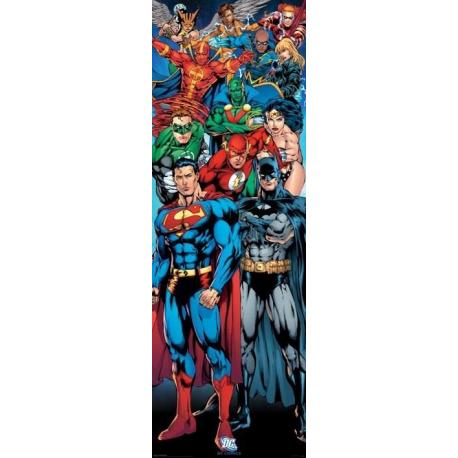 Poster Puerta Dc Comics Justice League Of America