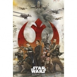Maxi Poster Star Wars Rogue One Rebeldes