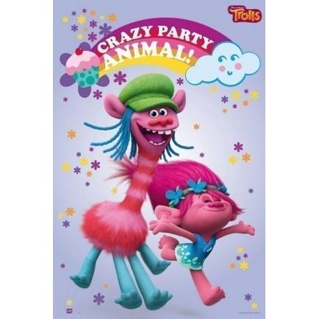 Maxi Poster Trolls Fiesta Loca