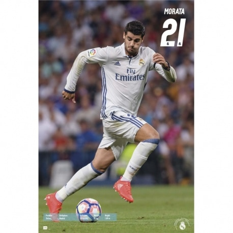 Maxi Poster Real Madrid 2016/2017 Morata
