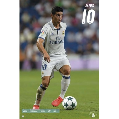 Maxi Poster Real Madrid 2016/2017 James