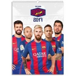 Calendario A3 2017 F.C. Barcelona