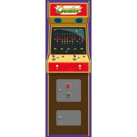 Poster Puerta Arcade Gamer