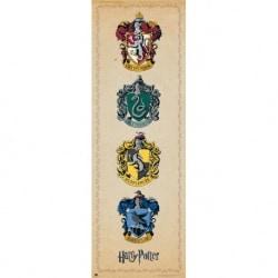 Poster Puerta Harry Potter Emblemas