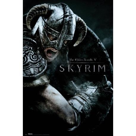 Maxi Poster Skyrim Attack