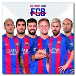 Calendario 2017 F.C. Barcelona