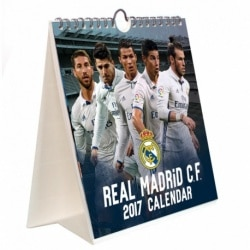 Calendario 2017 Sobremesa Combi Real Madrid