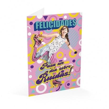 Tarjeta Felicitacion Soy Luna