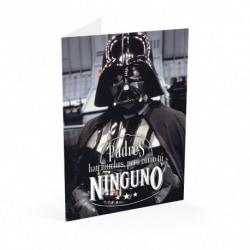 Tarjeta Felicitacion A4 Star Wars Padre