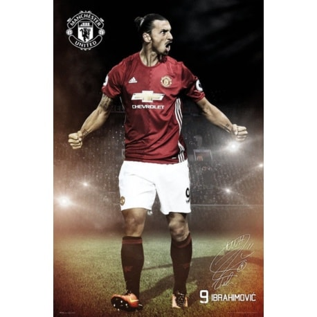 Maxi Poster Manchester United Ibrahimovic 16/17