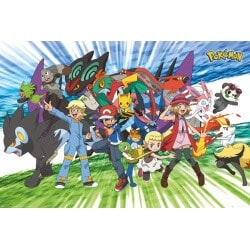 Maxi Poster Pokemon Traveling Party