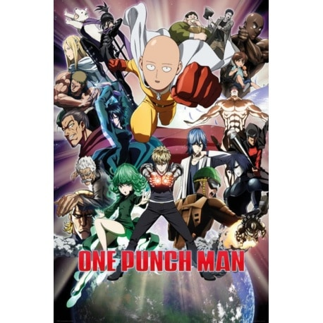 Maxi Poster One Punch Man Collage