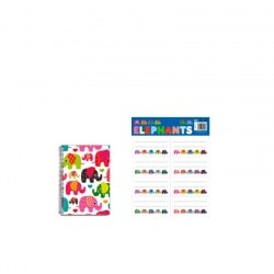 Pack Elephants Cuaderno