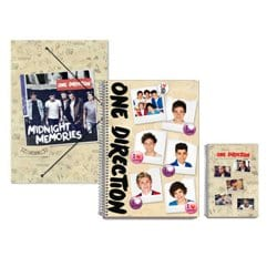 Pack One Direction Cuadernos