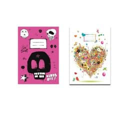 Pack Jotter Pink