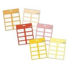 Pack Etiquetas Colores 1