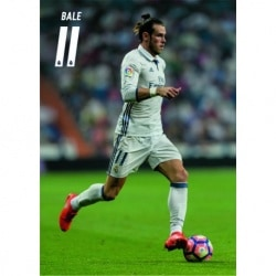 POSTAL A4 REAL MADRID A4 2016/2017 BALE ACCION