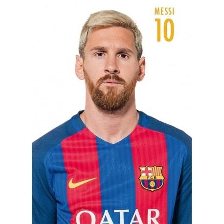 POSTAL FC BARCELONA 2016/2017 MESSI - Nosoloposters.com