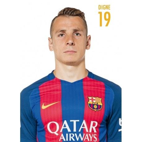 POSTAL FC BARCELONA 2016/2017 DIGNE