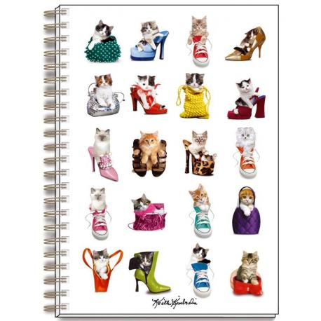 Cuaderno A4 Keith Kimberlin Gatos