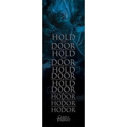 Poster Puerta Juego de Tronos Hold the door