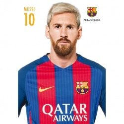 Postal FC Barcelona A4 2016/2017 Messi